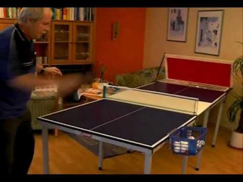 Tischtennis In Der Wohnung Youtube