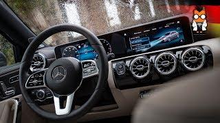 MBUX Hands-On in der Mercedes A-Klasse Lissabon