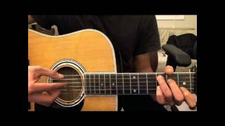 Just a Dream by Nelly - intro & chords guitar tutorial