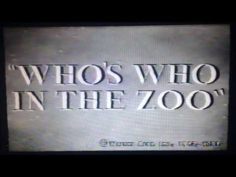 Porky Pig- Who's Who in The Zoo (1942)