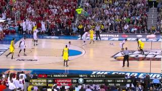 NCAA Basketball 2013 Tournament Championship Michigan vs Louisville (FULL GAME-CBS BROADCAST)