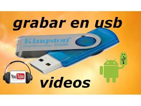 Informáticafácil Como Grabar Un Vídeo De You Tube En Una Memoria Usb Youtube