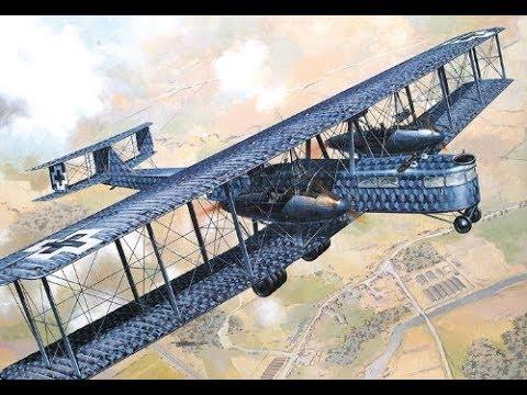 Image result for The Zeppelin-Staaken R.VI