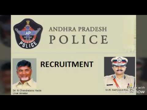 AP police jobs in 800.. Vacancies recurutment