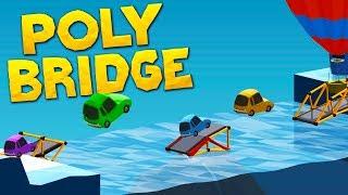 Building Bridges Without Bridges in Poly Bridge