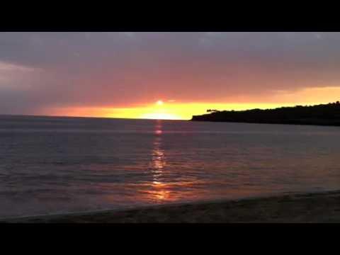 Sunset at Manele Bay Lana'i HI