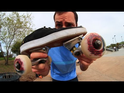 TURNING SKATE SHOES INTO A SKATEBOARD | SKATE EVERYTHING EP 14