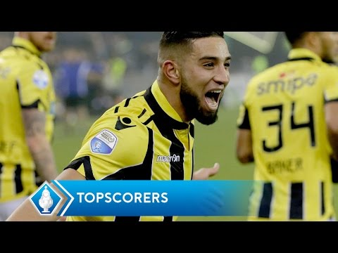 KNVB Beker | Topscorers so far