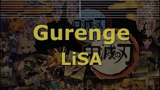 Romanized Karaoke♬ Gurenge - LiSA
