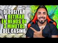 Truco para depositar y retirar sin problemas del casino online | PKM