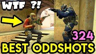 """""""THIS GAME IS BROKEN !"""" - CS:GO BEST ODDSHOTS #324"""