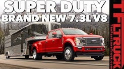 New 2020 Ford Super Duty Gets a More Powerful Diesel AND A NEW 7.3L V8