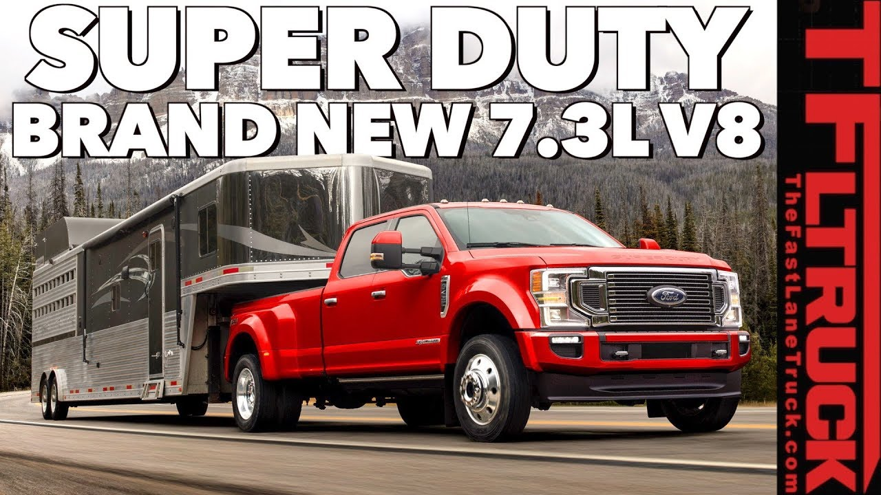 Best Trucking Companies For New Drivers 2020 New 2020 Ford Super Duty Gets a More Powerful Diesel AND A NEW 7.3