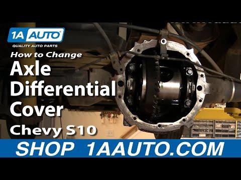 1AAuto Auto Repair Change Rear Axle Differential Cover Oil Fluid (non-posi)