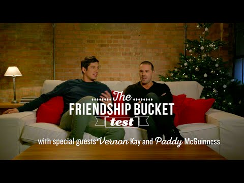Vernon Kay & Paddy McGuinness take the KFC Friendship Bucket Test