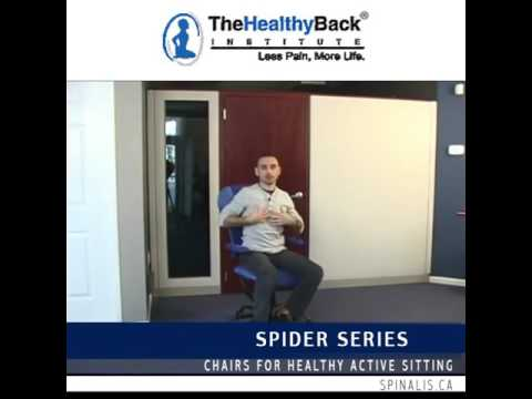 Review on SpinaliS Chair by The Healthy Back Institute