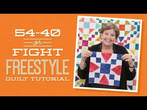 Make a 5440 or Fight Freestyle Quilt with Jenny!