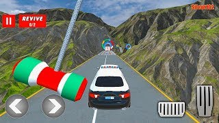 Police Limo Car Stunts GT Racing: Ramp Car Stunt - Impossible Car Stunts 3D - Android Gameplay