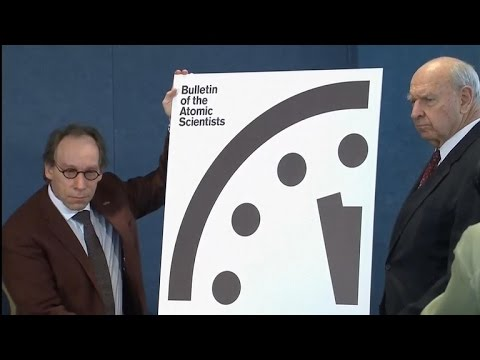 """""""Doomsday Clock"""" moves 30 seconds closer to midnight"""