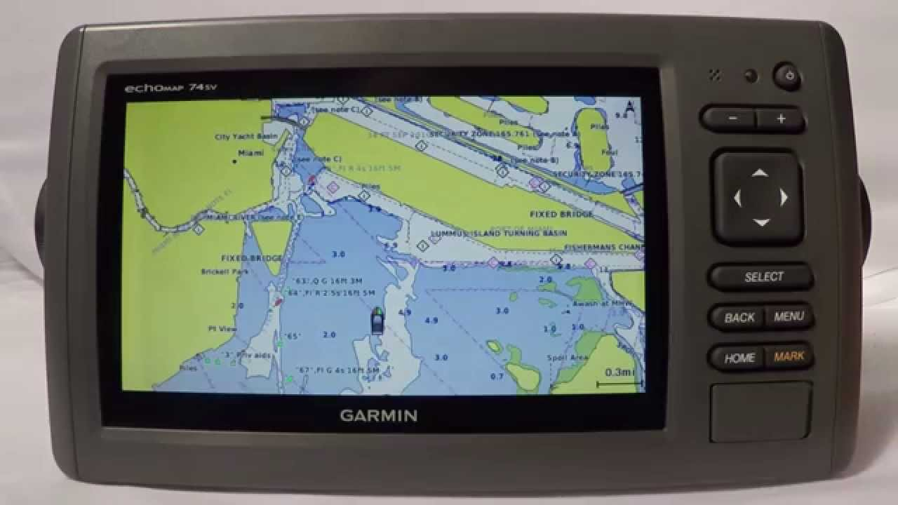 garmin echomap 74sv - the gps store, inc. first look - youtube, Fish Finder