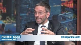 Innenminister Herbert Kickl bei