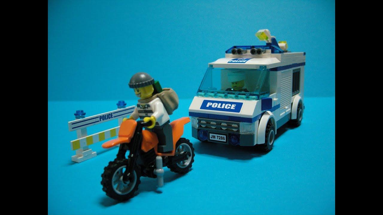 Lego City Police Car Toys Series3 (Lego 7286 Prisoner