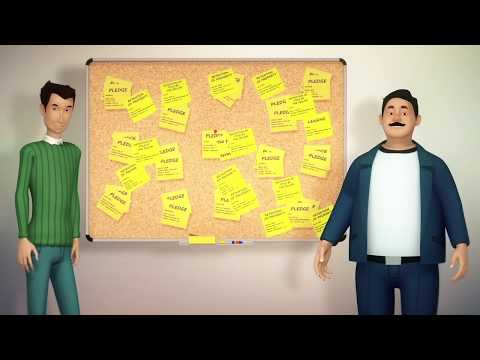 Financial literacy 3D cartoon - Collateral registry