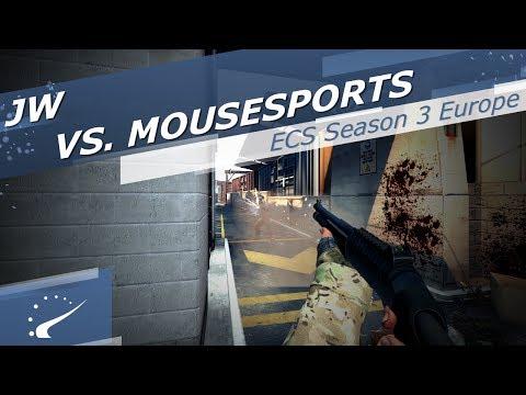 JW vs. mousesports - ECS Season 3 Europe