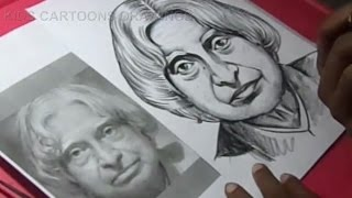 How to Draw LEGEND ABDUL KALAM Drawing STEP BY STEP for KIDS