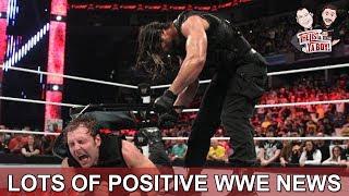 LAYB #71: Positive WWE News!  Rollins, Ambrose, Hogan, Bryan, plus NJPW, Impact, ROH, lots more