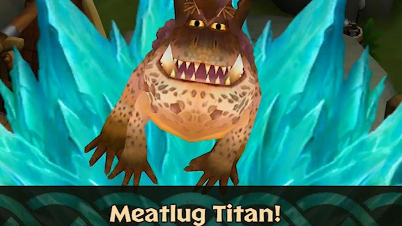 Dragons: Rise Of Berk  Meatlug Titan (how To Train Your Dragon 2)  Youtube