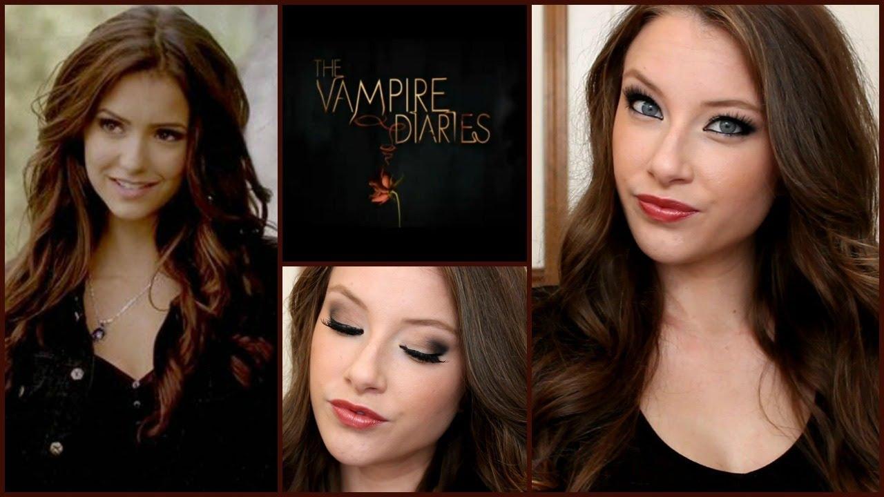 The Vampire Diaries- Katherine Pierce Makeup & Hair Tutorial ...