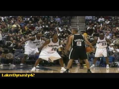 2002-03 San Antonio Spurs Championship Season Part 1/4