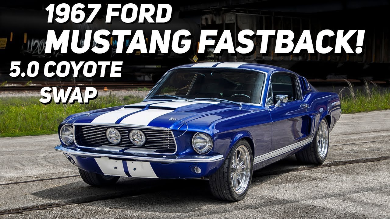 Notice also the plus sign to access the comparator tool where you can compare up to 3 cars at once side by side. 5 0 Coyote Swapped 1967 Ford Mustang Fastback Walkaround A Closer Look