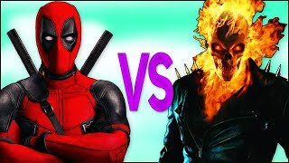 ДЭДПУЛ VS ПРИЗРАЧНЫЙ ГОНЩИК | СУПЕР РЭП БИТВА |Deadpool 2 movie ПРОТИВ Ghost Rider superhero trailer