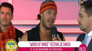 Los detalles del festival de danza ''World Of Dance''