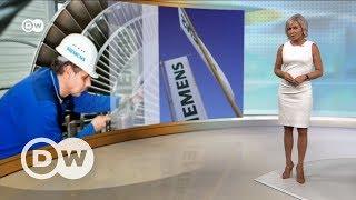 Siemens из за скандала ограничивает работу в РФ   DW Новости (21 07 2017)
