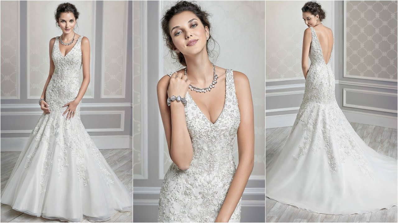 Mermaid Style Wedding Dress Best Designers Dresses Brides Wd28 You
