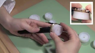 How to Close a Snap Off Watch Case with a Watch Case Press