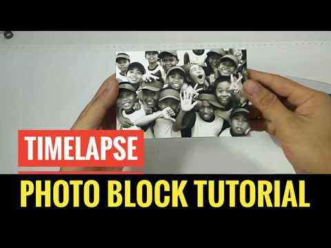 Timelapse Photo Block Tutorial | Resin Bening 107 | Resin Photography