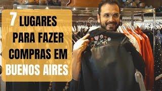 ONDE FAZER COMPRAS EM BUENOS AIRES