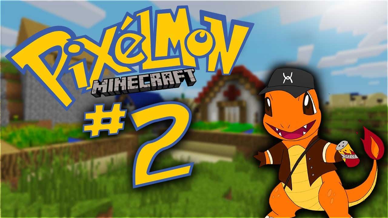 Minecraft pixelmon ep 2 charmander in trouble - Pixelmon ep 1 charmander ...