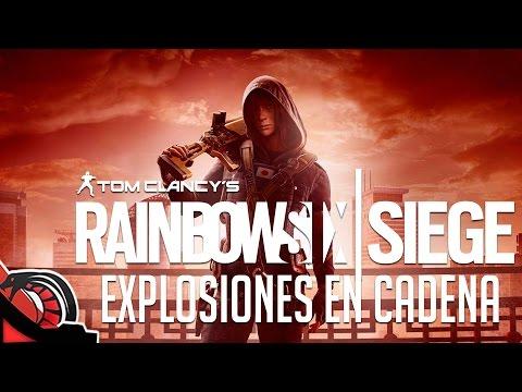 EXPLOSIONES EN CADENA | Rainbow Six Siege - Rankeds c/ None, Zellen, Val y Eruby