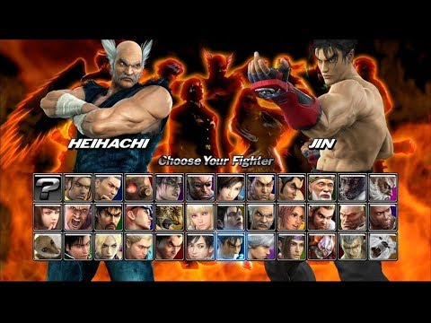How To Unlock All Characters In Tekken 5 Youtube