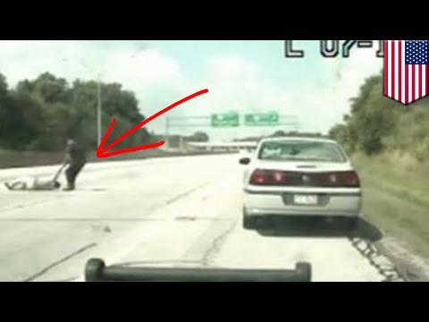 Captured on Camera: North Olmsted cop Matt Beck saves suicidal man's life on I-480 near Cleveland