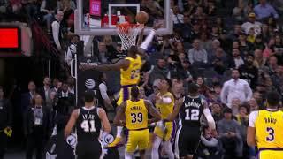 San Antonio Spurs vs Los Angeles Lakers | November 25 2019