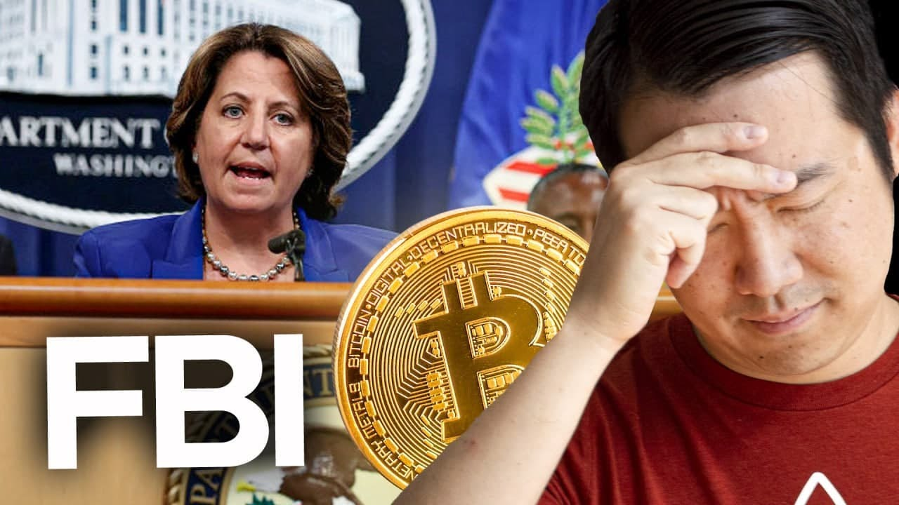 STOP TRIPPING... The FBI can't HACK or STEAL our Bitcoin!
