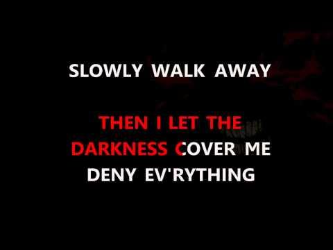 Disturbed  Darkness Karaoke HD