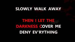Disturbed - Darkness Karaoke HD