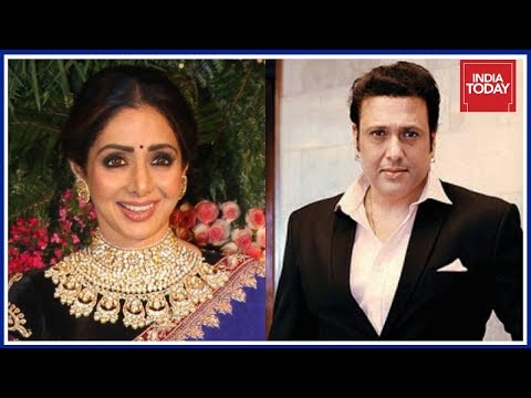 Actor Govinda Recollects Memories Of Working With Sridevi